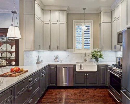 U Shaped Kitchen With A Peninsula Design Ideas Amp Remodel