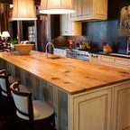 New Country French Cottage Rustic Kitchen DC Metro