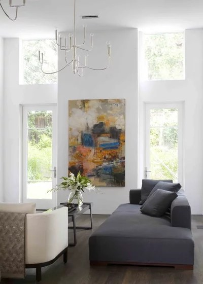 Modern Living Room by Nest Architectural Design, Inc.