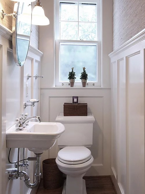 Houzz Vintage Powder Room Design Ideas Amp Remodel Pictures