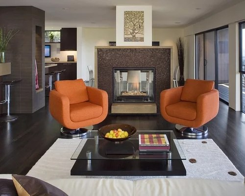 Contemporary Accent Chairs Living Room
