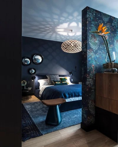 Contemporary Bedroom by Guillaume Grasset