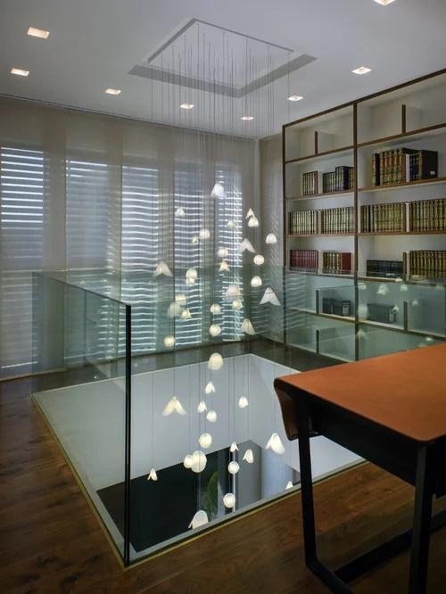 Custom Extra Long Pendant Chandelier Pearl Shell Modern For High Cei Lighting