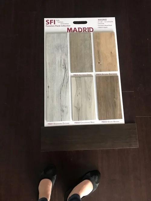 wood like tile options