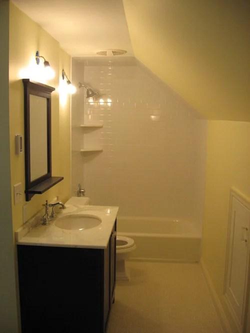 Small Attic Bathroom Houzz