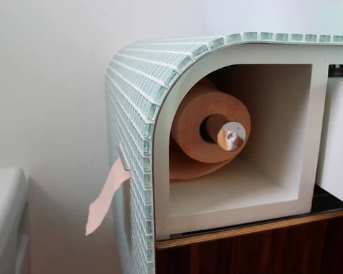 Hidden Toilet Paper Ideas Pictures Remodel And Decor