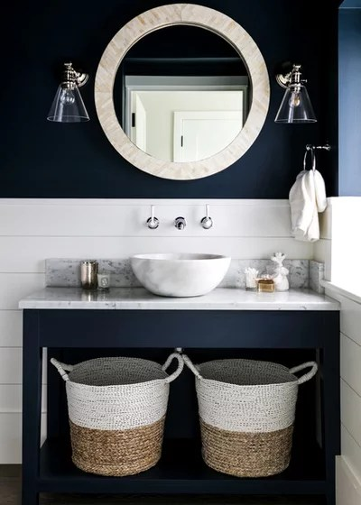 Beach Style Bathroom Coastal Bathroom