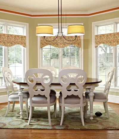 Traditional Dining Room by Designing Solutions