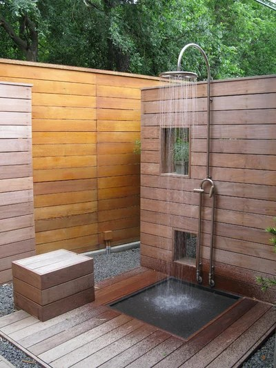 Contemporary Patio by David Rolston Landscape Architects