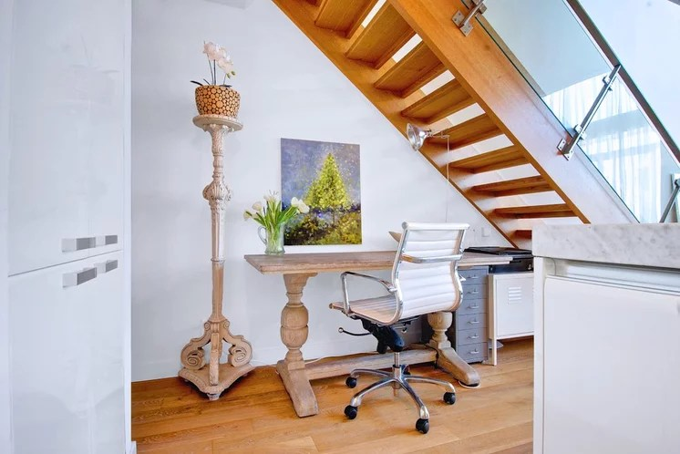 Contemporary Home Office by Andrew Snow Photography