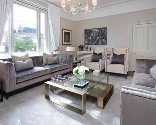 Houzz Crushed Velvet Sofa Design Ideas Amp Remodel Pictures