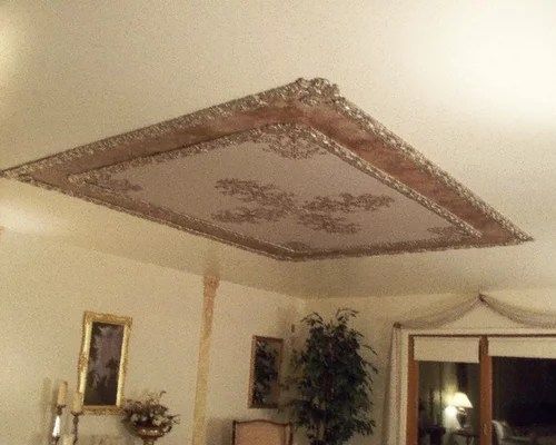 Ornamental Plaster Mold Decorating Victorian Ceilings And