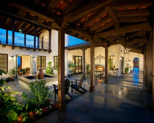 Courtyard Houzz
