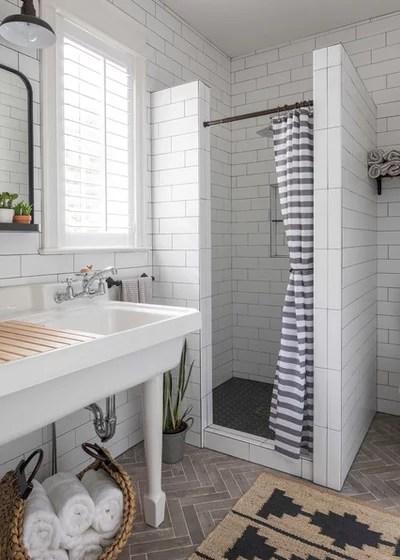 Beach Style Bathroom by MDS Remodeling LLC