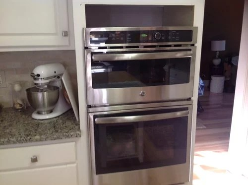 installing a new microwave oven combo