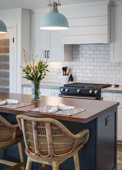 Beach Style Kitchen by Marrokal Design & Remodeling