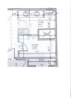 which is the best master bath & closet floor plan and why?