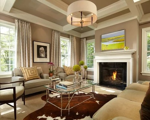 Neutral Living Room Home Design Ideas, Pictures, Remodel