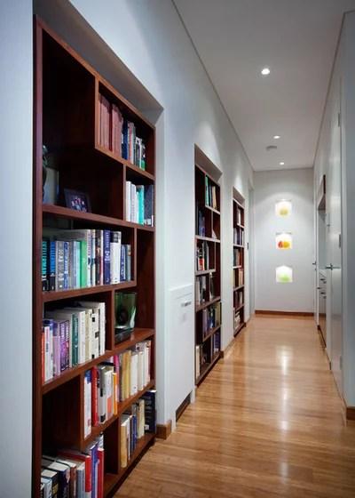 Contemporáneo Hall y pasillo by Yael K Designs