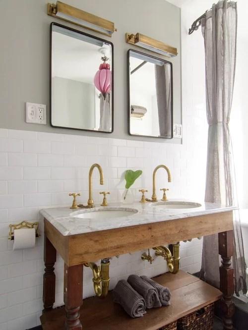 antique brass bathroom faucets | houzz