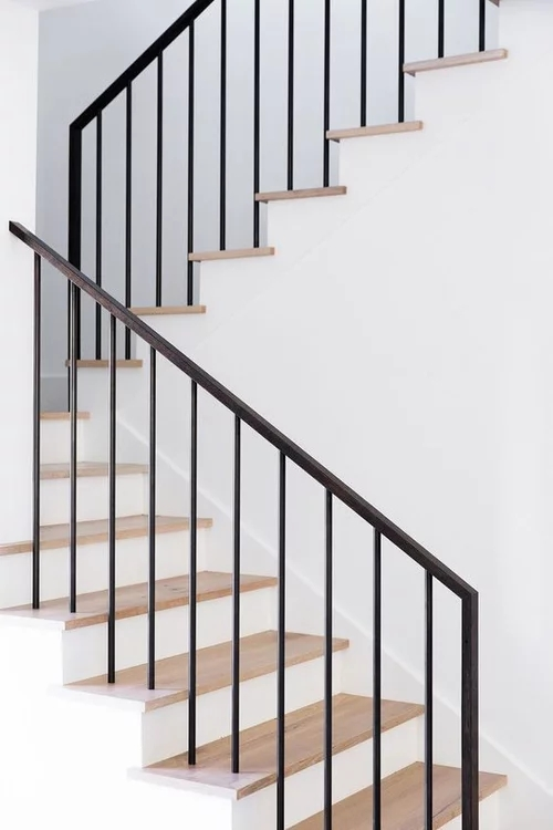 Modern Stair Railing Diy Help | Modern Stair Hand Railing | Stainless Steel | Decorative | Creative Outdoor Stair | Glass | Solid Wood