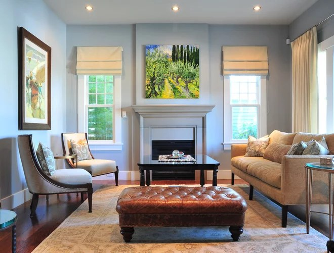 Traditional Living Room by Enviable Designs Inc.