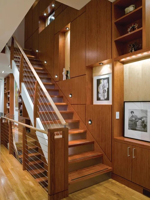 Closed Stringer Stair Ideas Pictures Remodel And Decor