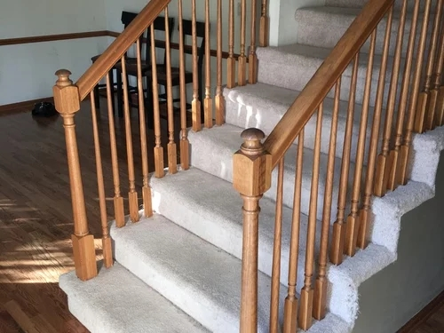 Staircase Reno Need Help Please   Mink Carpet On Stairs   Design   Step   Grey   Open Plan   Taupe Painted