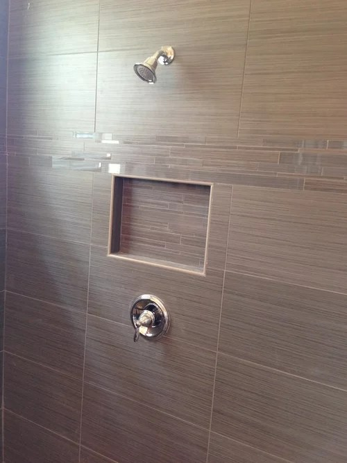 Laying 12 X 24 Tile Shower