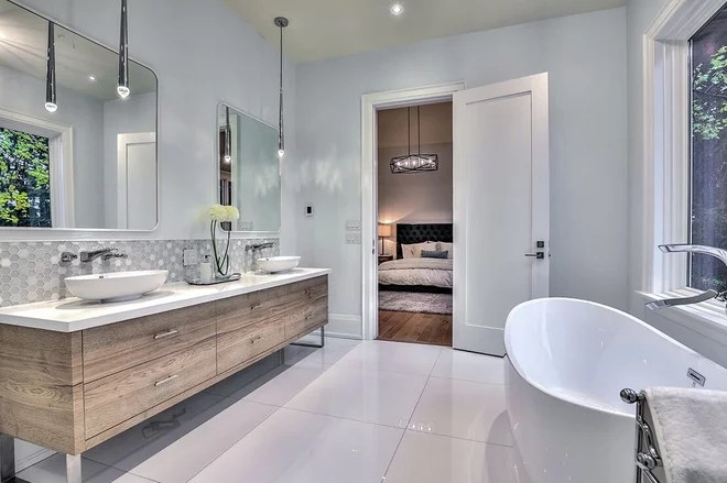 Contemporary Bathroom by MILLWORX