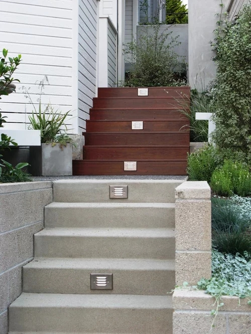 Outdoor Stairs Home Design Ideas Pictures Remodel And Decor   Designs Of Stairs Outside House