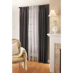 Can I Hang Sheers Behind Drapes Without A Double Curtain Rod