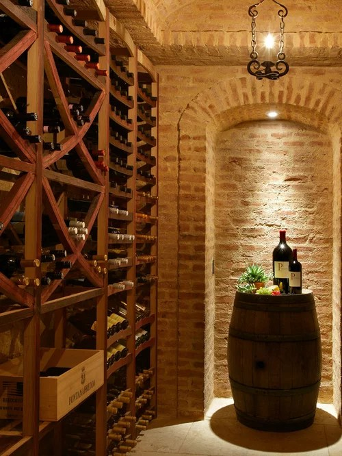Brick Wine Cellar Houzz