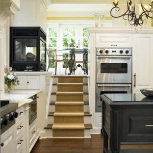 These Split Level Homes Get the Style Right Traditional Kitchen by The Sky is the Limit Design