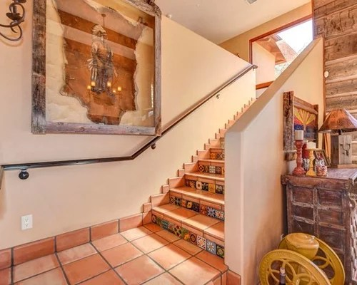 Mexican Tile Stair Risers
