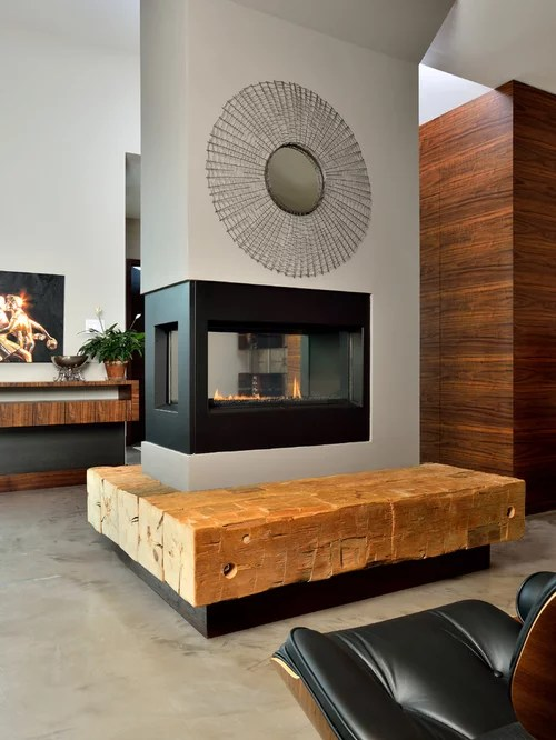 Three Way Fireplace Home Design Ideas Pictures Remodel
