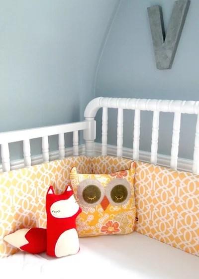 Contemporain Chambre d'Enfant Violet's Nursery