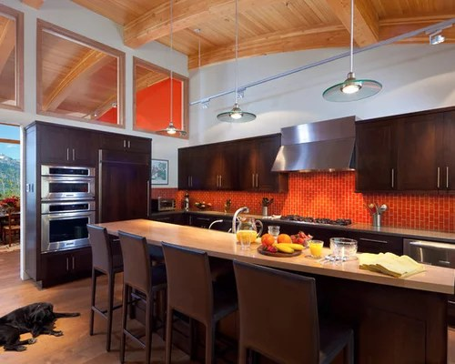 Capricious Brown Kitchen Colors 19 Orange And Decor For Goodly