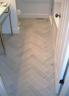 The layout grid must be square to avoid odd-shaped tiles along the walls. Has Anyone Used 6 X 24 Porcelain Floor Tiles In Herringbone Pattern