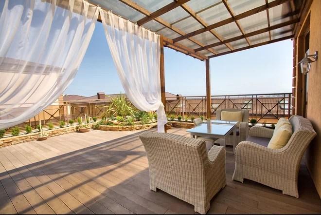 Mediterranean Deck by Julia