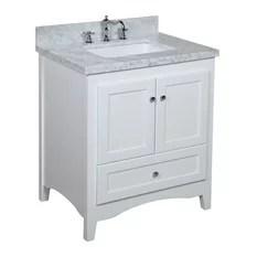 narrow depth bathroom vanity | houzz