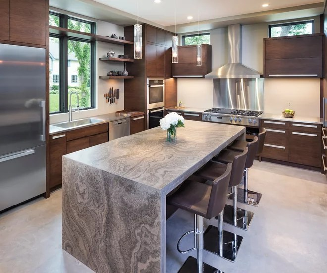 Modern Kitchen by John Kraemer & Sons