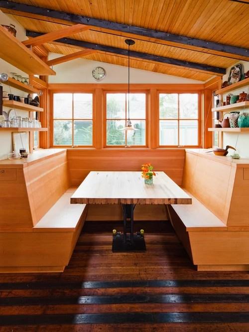 Galley Kitchen Breakfast Nook