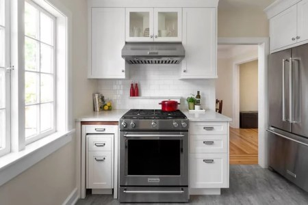 Tuck and Roll  How to Get More Counter Space in Your Kitchen