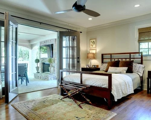 Bedroom With French Doors Houzz