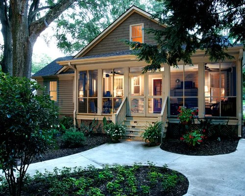 Screened Front Porch