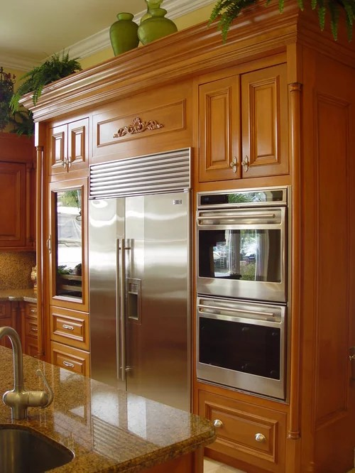 Best Refrigerator Next To Oven Design Ideas Amp Remodel Pictures Houzz