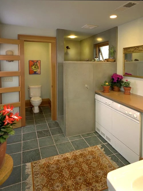 Separate Toilet And Tub Rooms Houzz