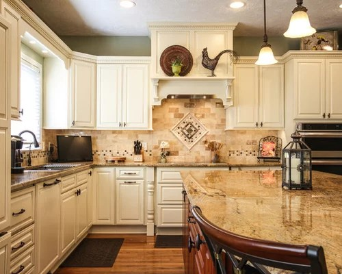 Natural Stone Backsplash Home Design Ideas Pictures