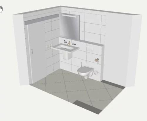 Badezimmer Renovierung - Wie hoch sollte ein Vorsprung im Bad sein?